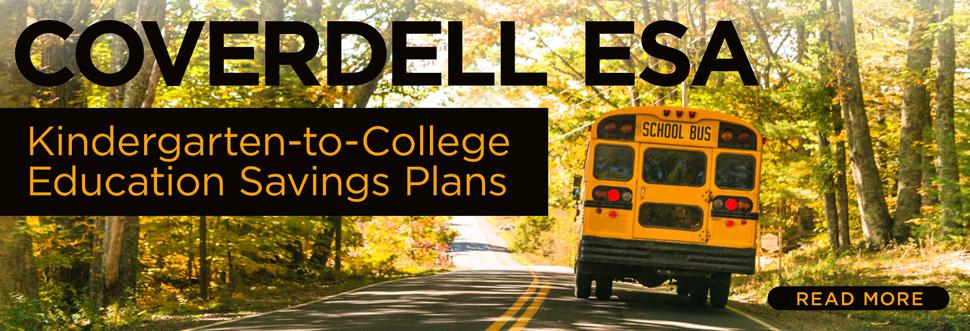 Coverdell ESA: Kindergarten-to-College Education Savings Plans