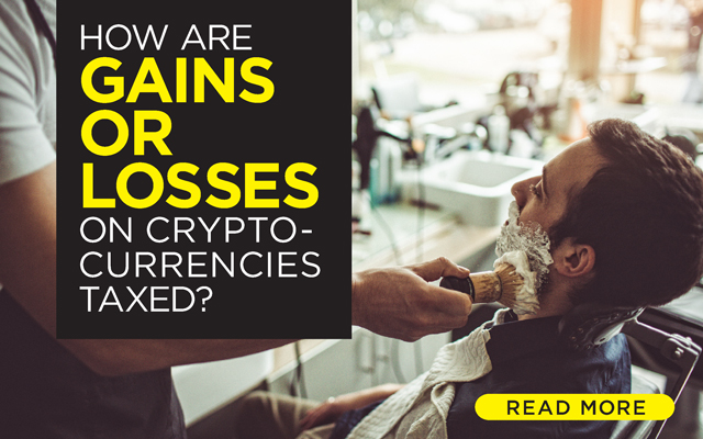 How Are Gains or Losses on Cryptocurrencies Taxed?