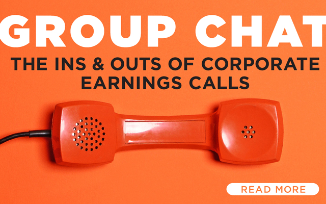 Group Chat: The Ins and Outs of Corporate Earnings Calls