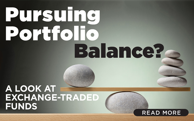 Pursuing Portfolio Balance? A Look at Exchange-Traded Funds