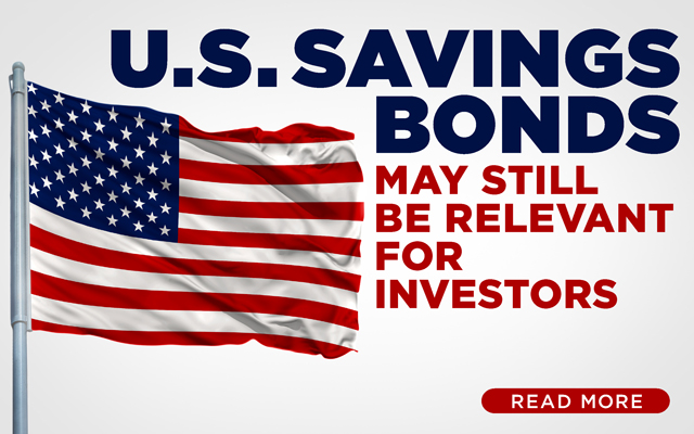 U.S. Savings Bonds May Still Be Relevant for Investors