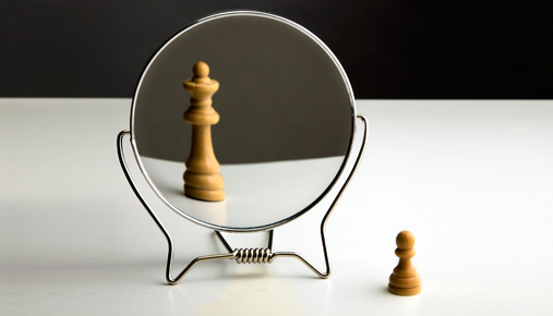 Mirror, Mirror: Seeing Future Self May Shape How You Invest