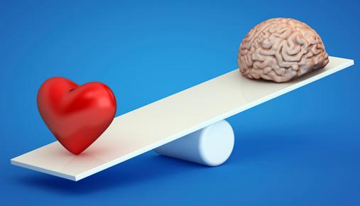 heart vs. brain
