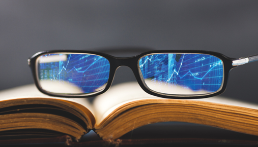 Market viewed through a lens: 3 steps to financial literacy
