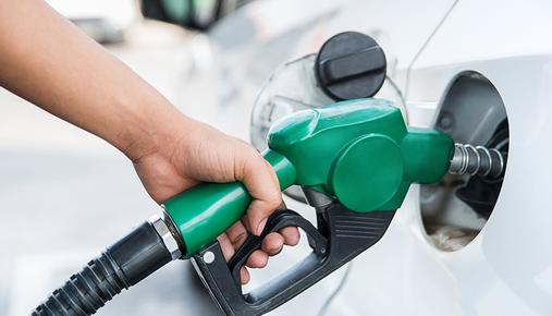 Filling Up Car With Gasoline
