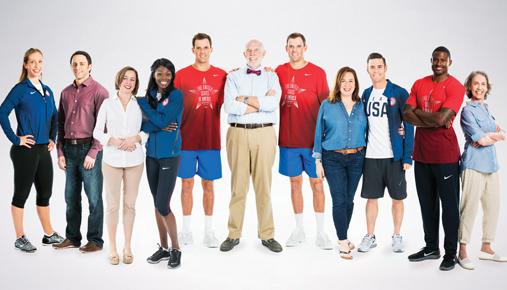 U.S. Olympians Meet TD Ameritrade Client Match