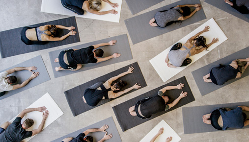Yoga: Activewear retailers stalled by customers moving online