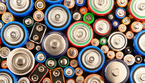 Batteries charged with renewable energy could help reduce fossil fuel usage