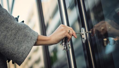 Locking door: protect against financial fraud