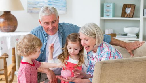 Investing in your grandchild's education and college savings.