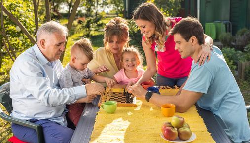 Baby Boomers Helping Their Millennial Adult Children Raise Kids