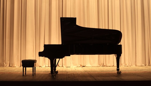 Grand piano: Practice trading to hone skills