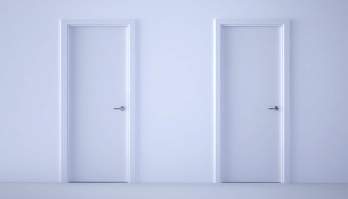 Two doors: Switching jobs? Don't forget to decide where your 401(k) should end up.