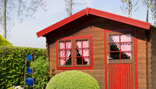 Forget the man cave; build a she shed