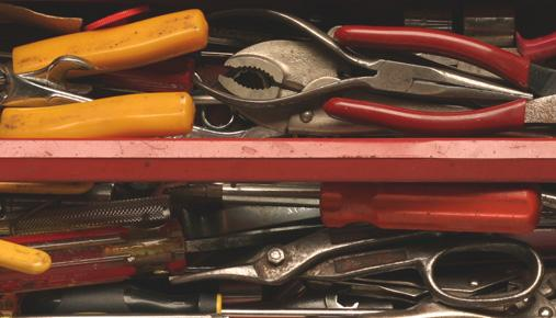Tool box: Selling extra items on eBay, Amazon, and garage sales