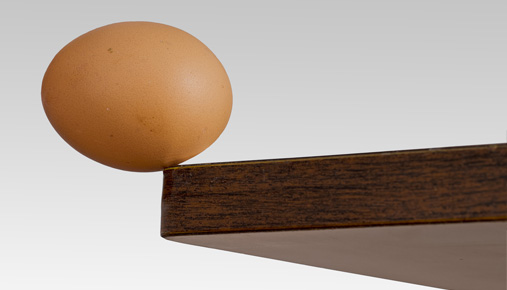 Balanced egg: What do low VIX levels mean in terms of historical volatility for the SPX?