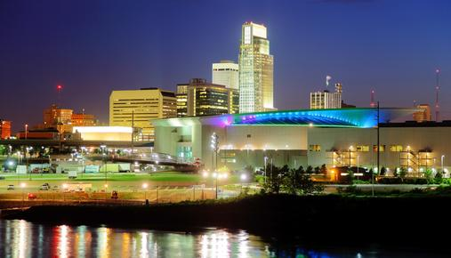 Downtown Omaha skyline