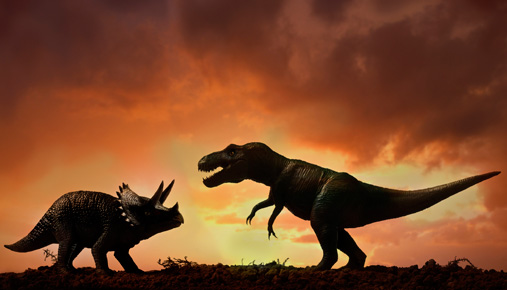 Dinosaur fight: Trade trends or ranges?