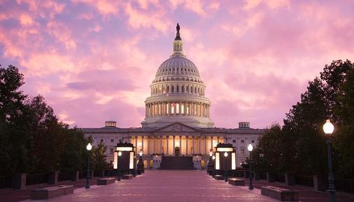 Congress building in Washington, D.C.