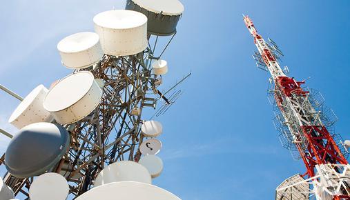 Radio station and telecommunication tower