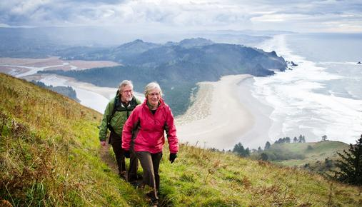 Couple Hiking: Turning Savings into Income