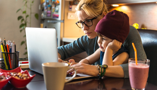 Family and Finances: The Working Mom Balancing and Saving Act