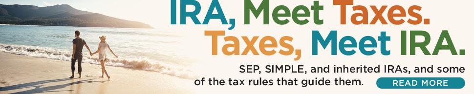 IRA + Taxes: