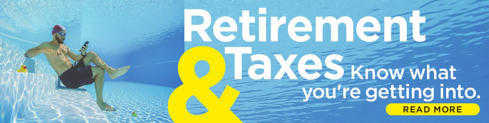 : Retirement Taxes // March 2018